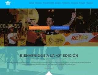 maratondereyes.com screenshot