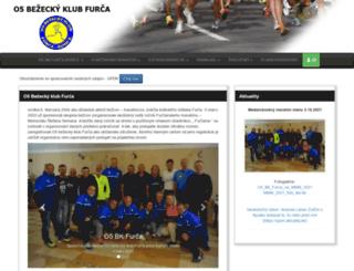maratonfurca.sk screenshot