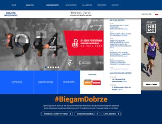 maratonwarszawski.com.pl screenshot