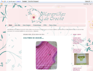 maravilhasdocroche.blogspot.com.br screenshot