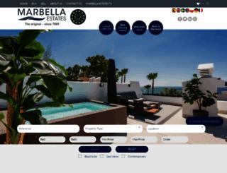 marbella-estates.com screenshot