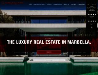 marbella-hills-homes.com screenshot
