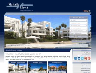 marbelladirect.com screenshot