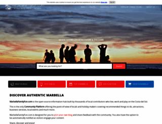 marbellafamilyfun.com screenshot