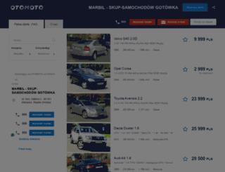 marbil.otomoto.pl screenshot