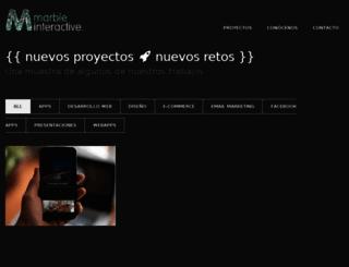 marbleinteractive.com screenshot