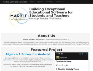 marblesoftwaresolutions.com screenshot