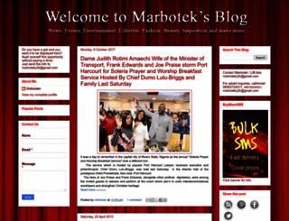 marbotek.blogspot.com screenshot