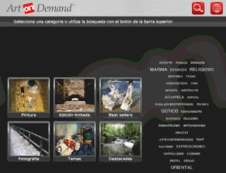 marc3.artondemand.es screenshot