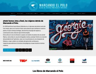 marcandoelpolo.com screenshot