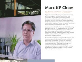 marcchow.com screenshot