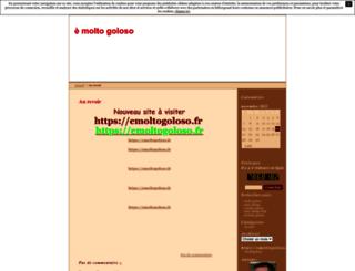 marcdelage.unblog.fr screenshot