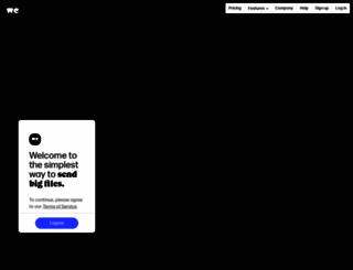 marcebassy.wetransfer.com screenshot