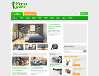 marcelgreen.com screenshot
