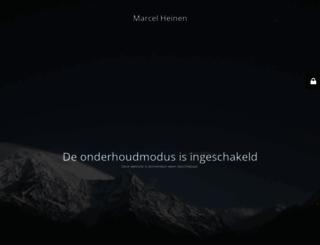 marcelheinen.nl screenshot