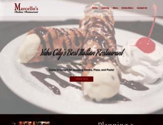 marcellosyc.com screenshot