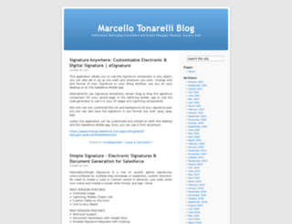 marcellotonarelli.wordpress.com screenshot