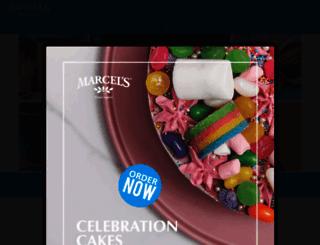marcels.co.za screenshot