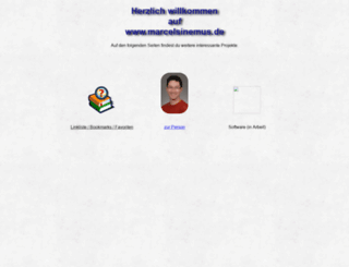 marcelsinemus.de screenshot