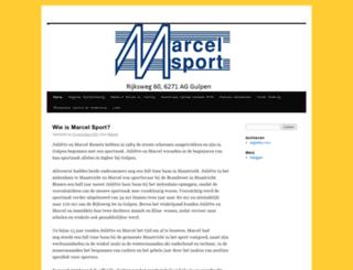 marcelsport.nl screenshot