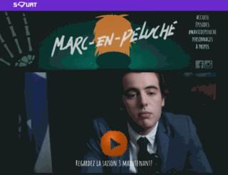 marcenpeluche.telequebec.tv screenshot