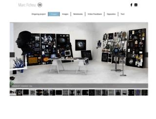 marcfichou.com screenshot