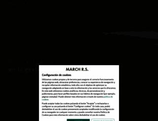 march-jlt.es screenshot