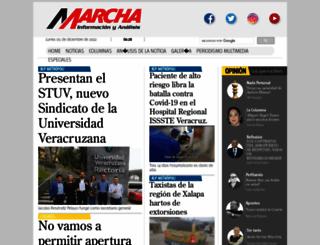 marcha.com.mx screenshot