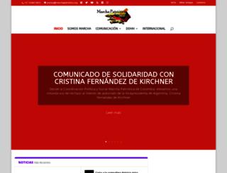 marchapatriotica.org screenshot