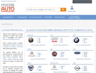 marche-auto.mister-auto.it screenshot