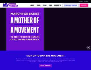 marchforbabies.org screenshot
