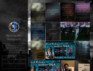 marchingartsphotos.tumblr.com screenshot