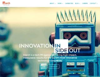 marchpr.com screenshot