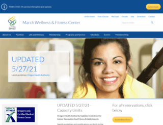 marchwellness.com screenshot