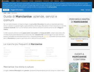 marcianise.paginegialle.it screenshot