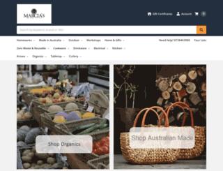marciasonmontague.com.au screenshot