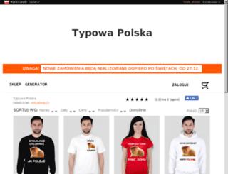 marcinstypulski.studentlive.pl screenshot