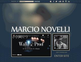 marcionovelli.com screenshot