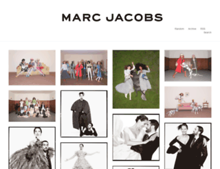 marcjacobs.tumblr.com screenshot