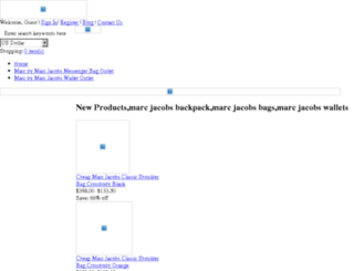 marcjacobsonlineoutlet2000.weebly.com screenshot