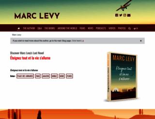 marclevy.info screenshot
