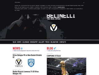 marcobelinelli.it screenshot