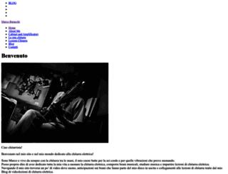 marcoburacchi.it screenshot