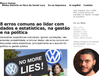 marcogomes.com screenshot