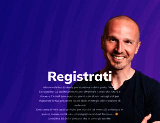 marcomontemagno.com screenshot