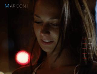 marconi.com screenshot