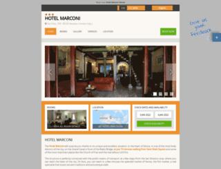 marconi.hotelinvenice.com screenshot