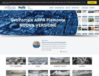 marcopolo.arpa.piemonte.it screenshot