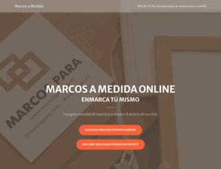 marcosamedida.com screenshot