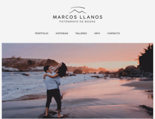 marcosllanos.com screenshot